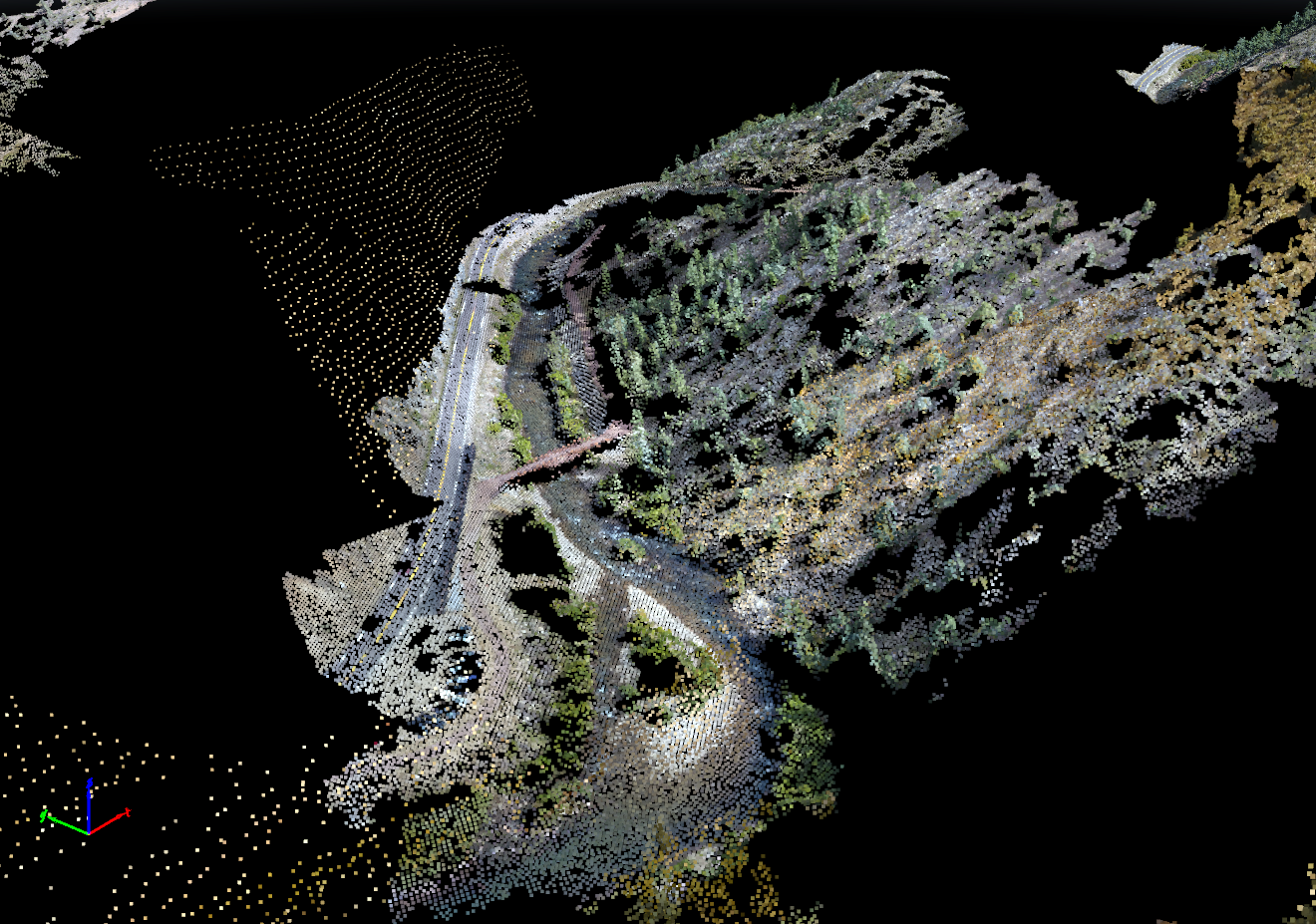 SAR site Point Cloud