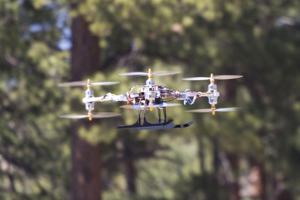 Research Prototype Hex-Y Multicopter